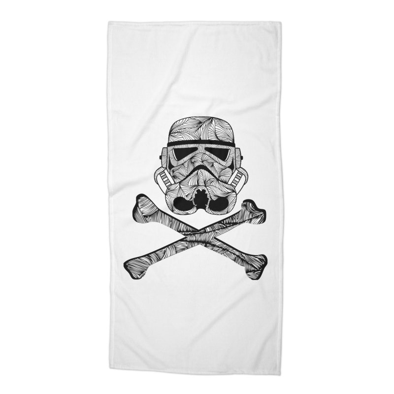 Skulltrooper Accessories Beach Towel by Tentimeskarma