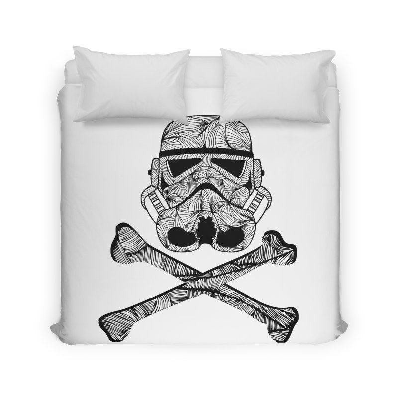 Skulltrooper Home Duvet by Tentimeskarma