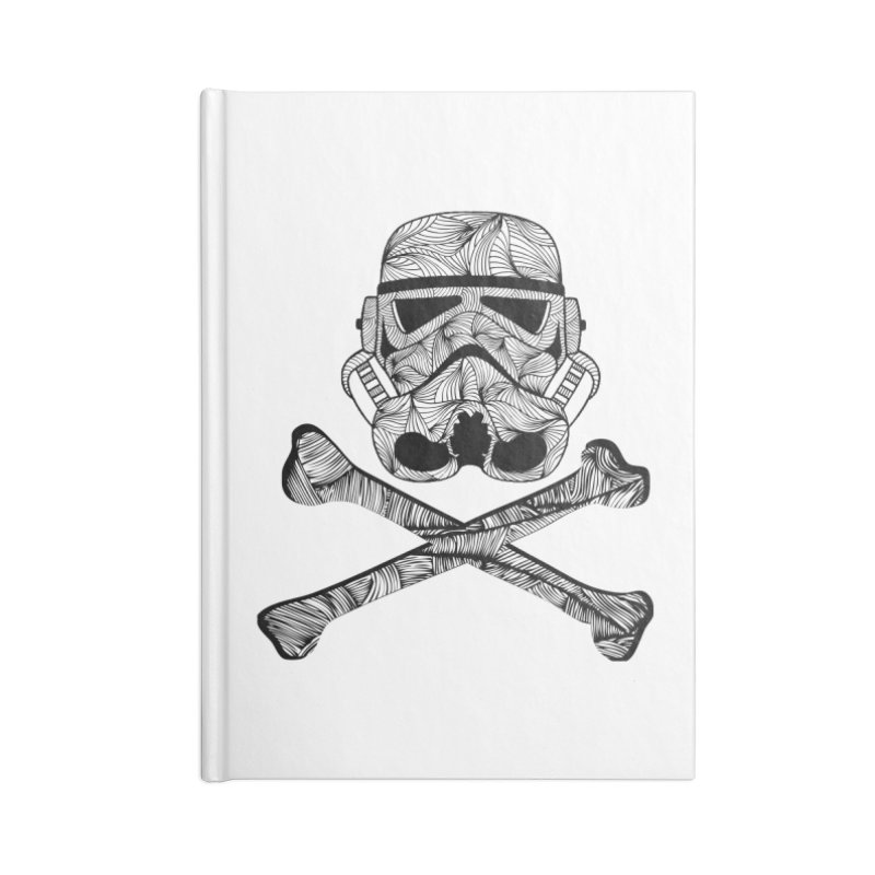 Skulltrooper Accessories Lined Journal Notebook by Tentimeskarma