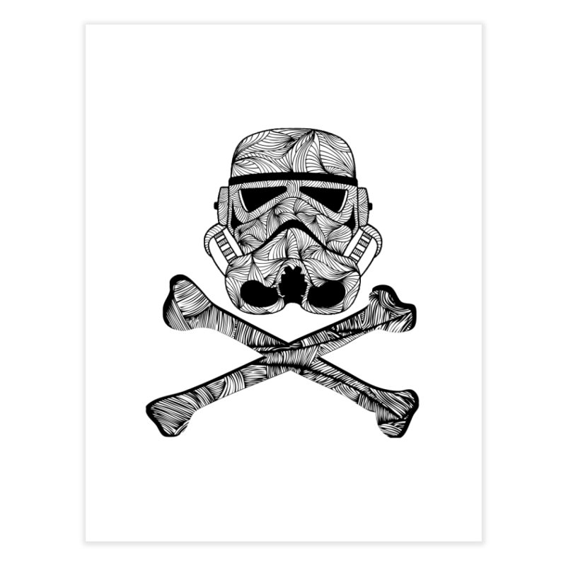 Skulltrooper Home Fine Art Print by Tentimeskarma