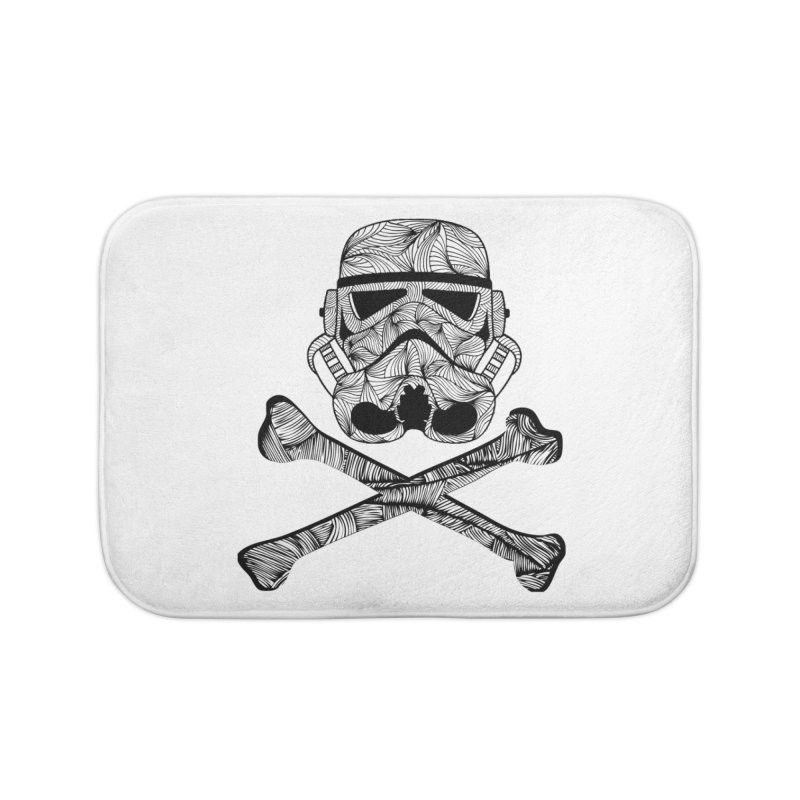 Skulltrooper Home Bath Mat by Tentimeskarma