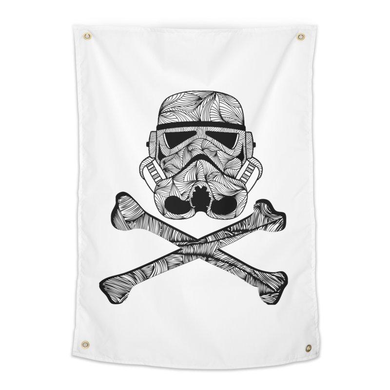 Skulltrooper Home Tapestry by Tentimeskarma