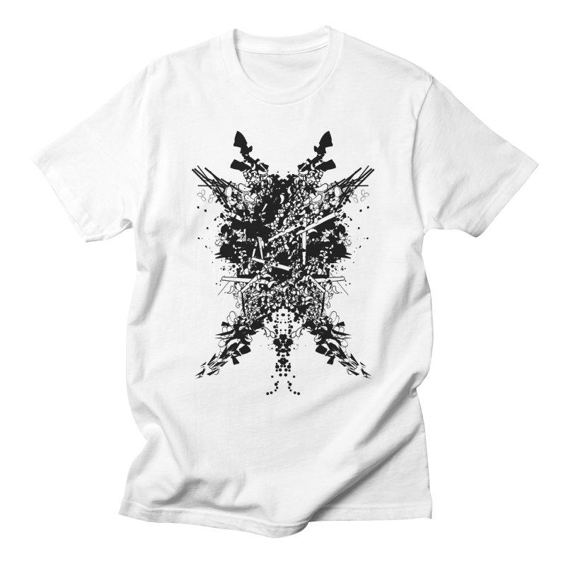 Abstract No. 7 Men's T-Shirt by Tentimeskarma
