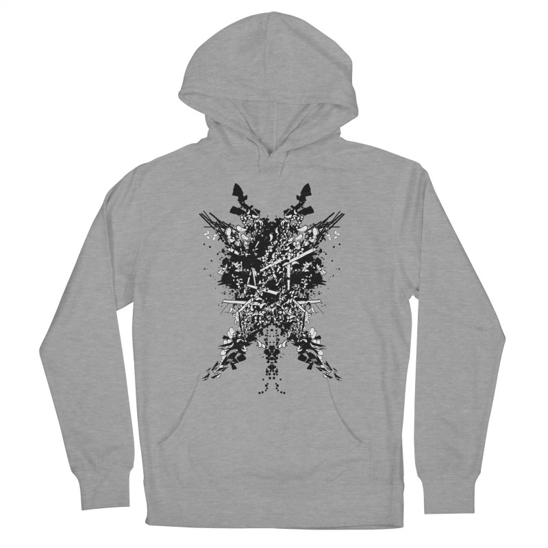 Abstract No. 7 Women's Pullover Hoody by Tentimeskarma