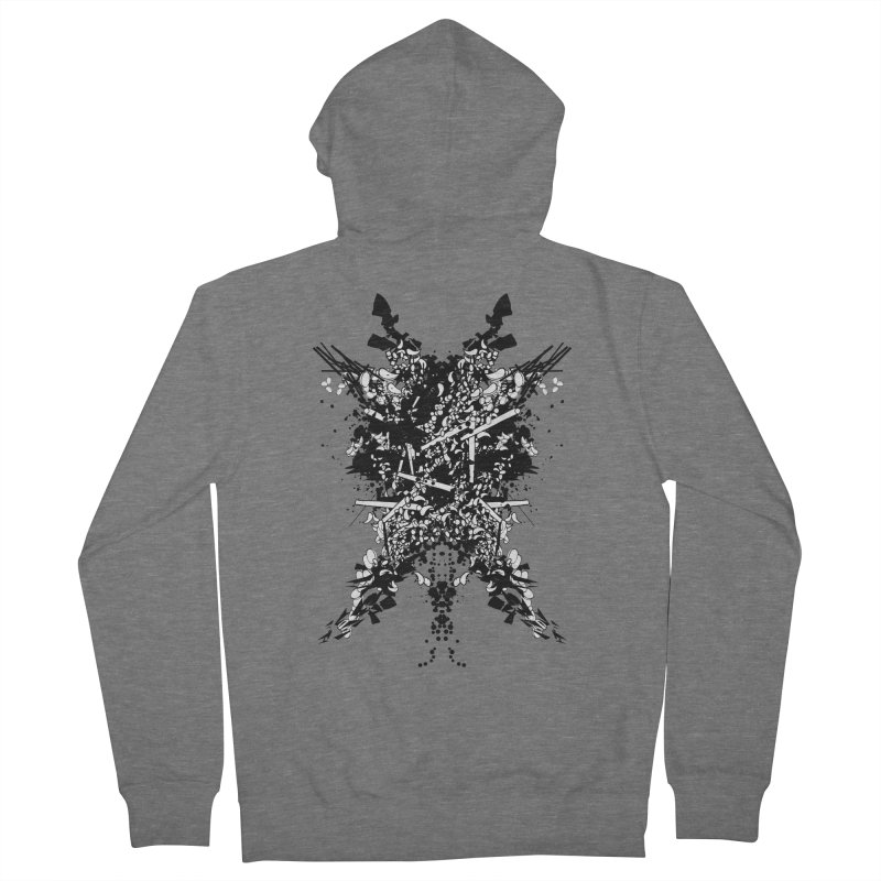 Abstract No. 7 Men's Zip-Up Hoody by Tentimeskarma