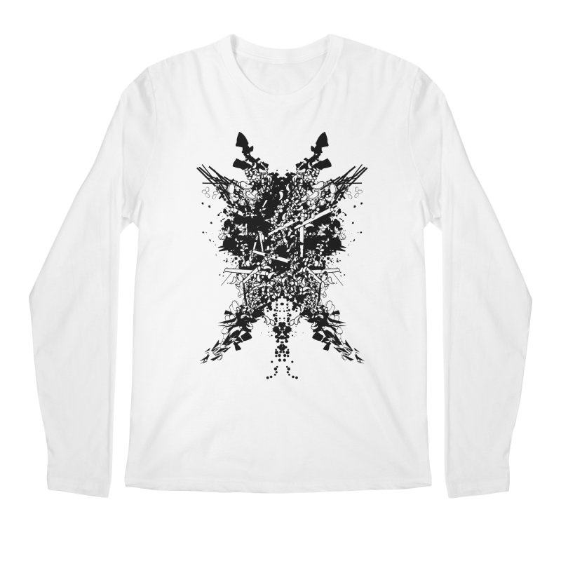 Abstract No. 7 Men's Longsleeve T-Shirt by Tentimeskarma