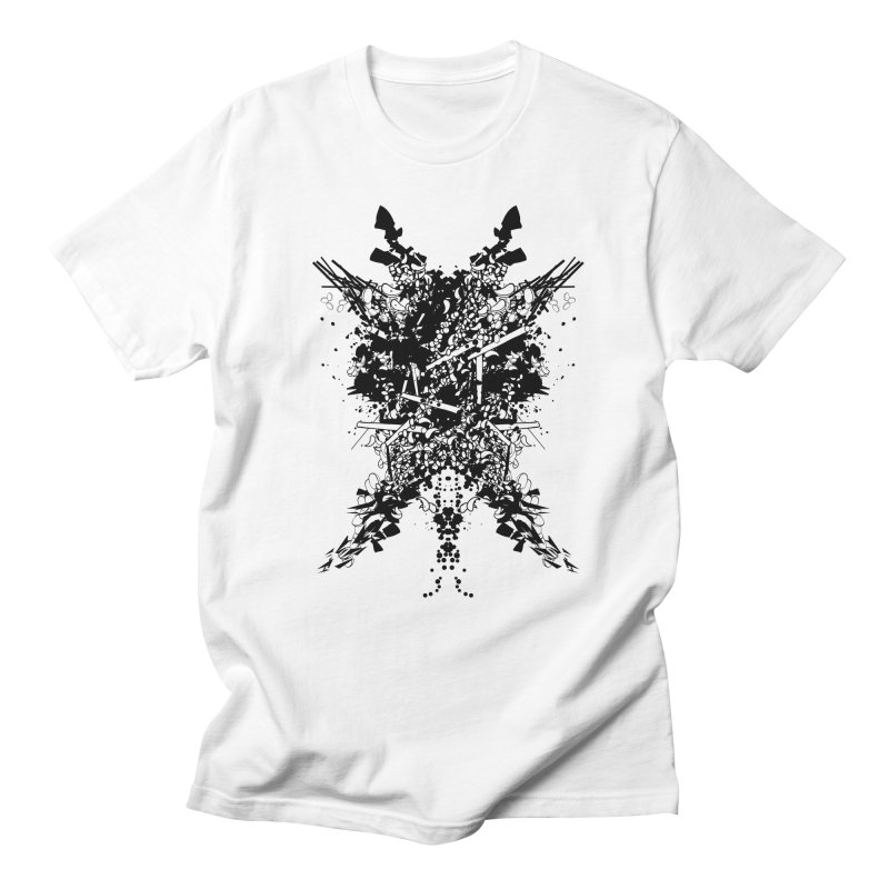 Abstract No. 7 Men's Regular T-Shirt by Tentimeskarma