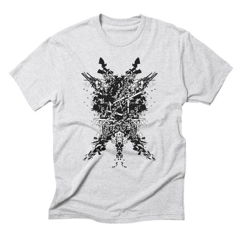 Abstract No. 7 Men's Triblend T-Shirt by Tentimeskarma