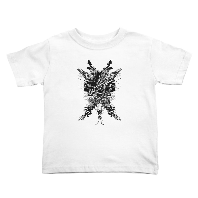 Abstract No. 7 Kids Toddler T-Shirt by Tentimeskarma