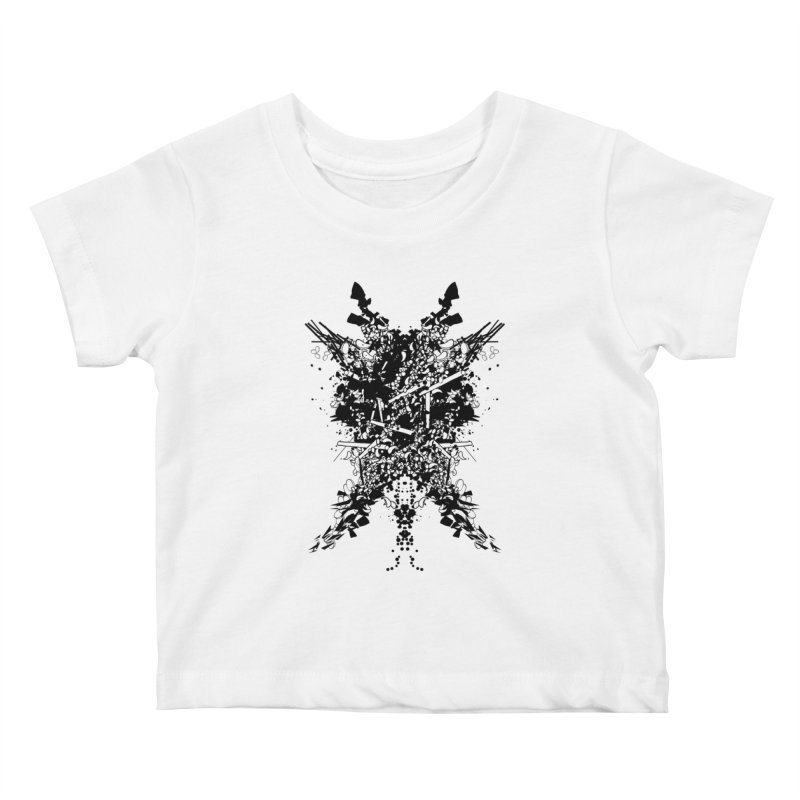 Abstract No. 7 Kids Baby T-Shirt by Tentimeskarma