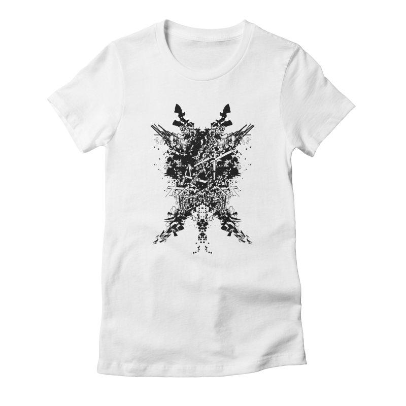 Abstract No. 7 Women's T-Shirt by Tentimeskarma