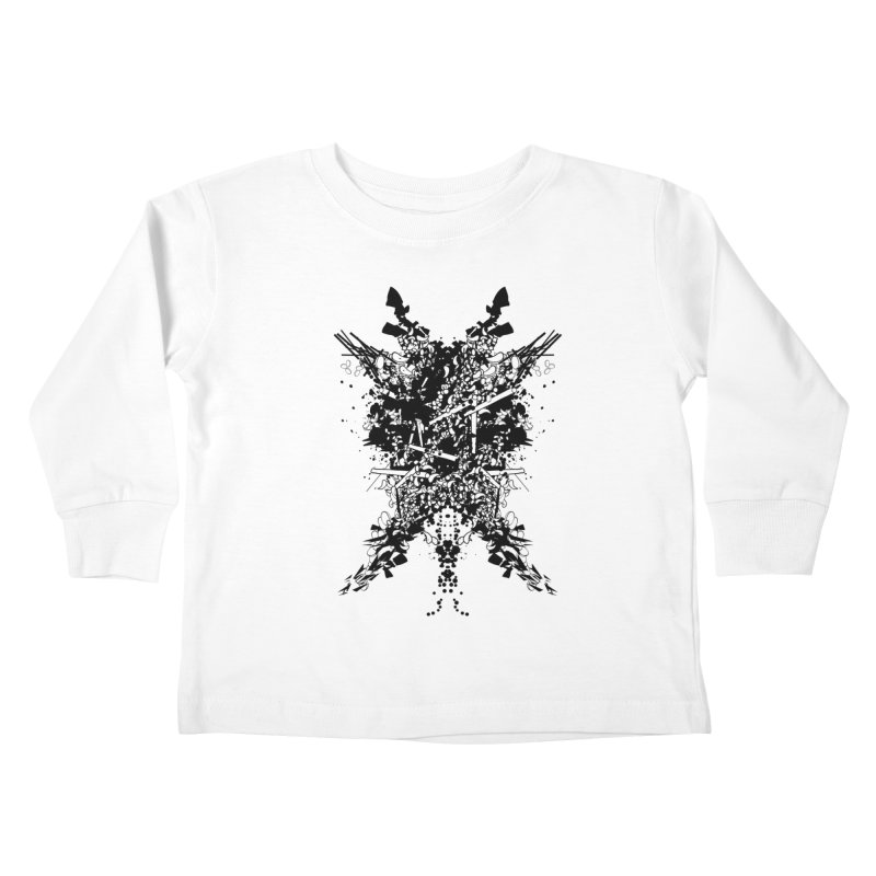 Abstract No. 7 Kids Toddler Longsleeve T-Shirt by Tentimeskarma