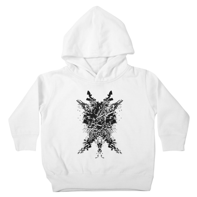 Abstract No. 7 Kids Toddler Pullover Hoody by Tentimeskarma