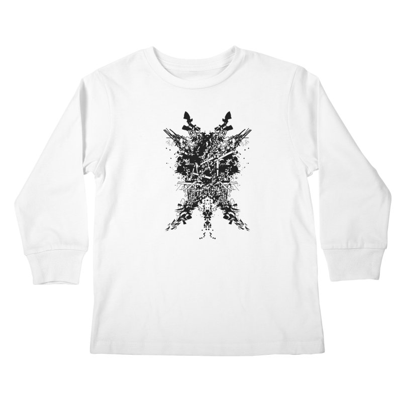 Abstract No. 7 Kids Longsleeve T-Shirt by Tentimeskarma