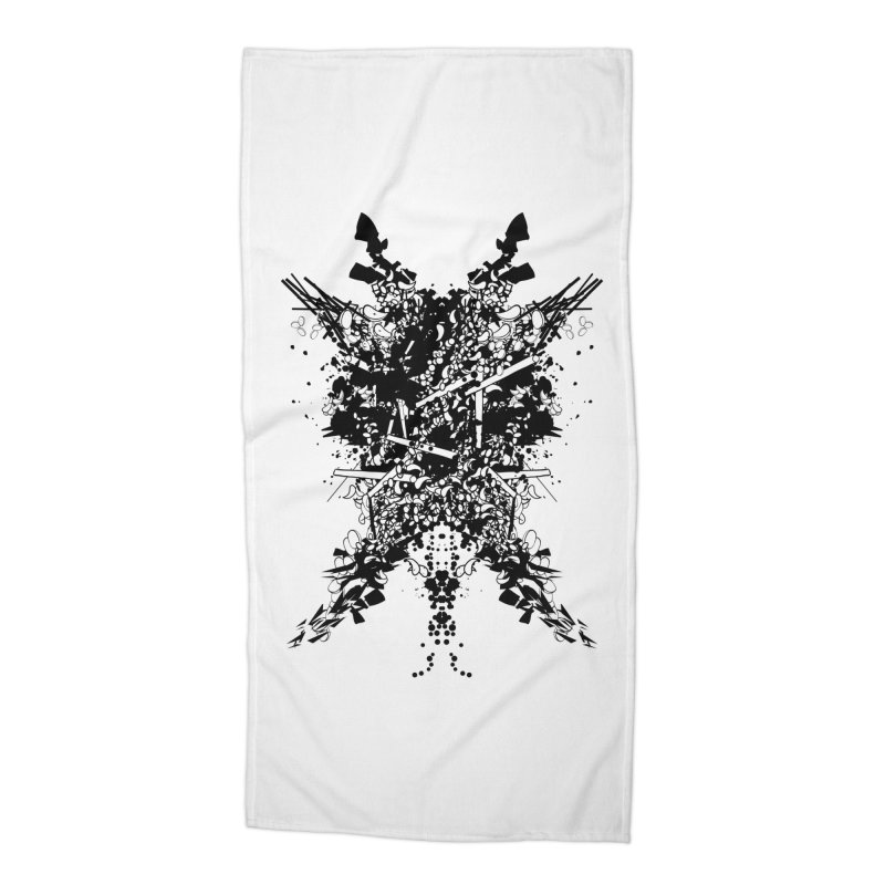 Abstract No. 7 Accessories Beach Towel by Tentimeskarma