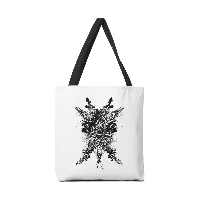 Abstract No. 7 Accessories Tote Bag Bag by Tentimeskarma