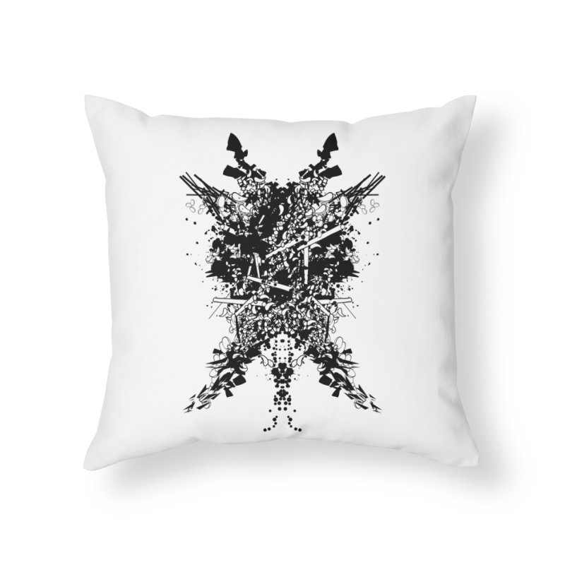 Abstract No. 7 Home Throw Pillow by Tentimeskarma