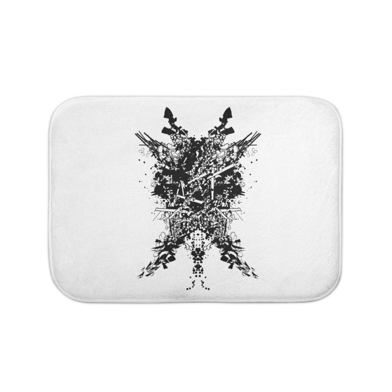 Abstract No. 7 Home Bath Mat by Tentimeskarma