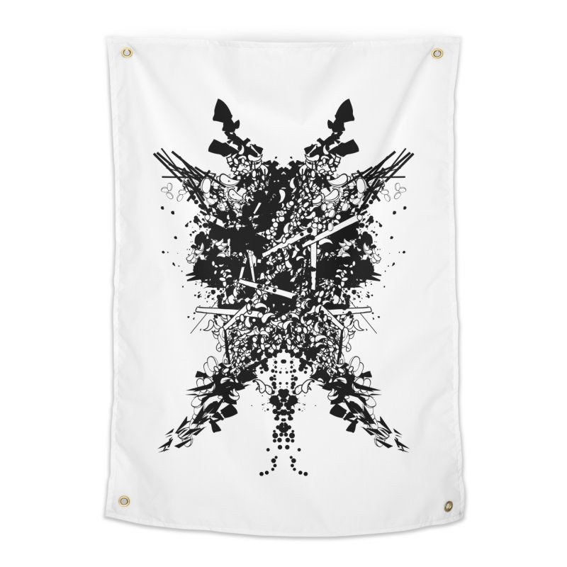 Abstract No. 7 Home Tapestry by Tentimeskarma
