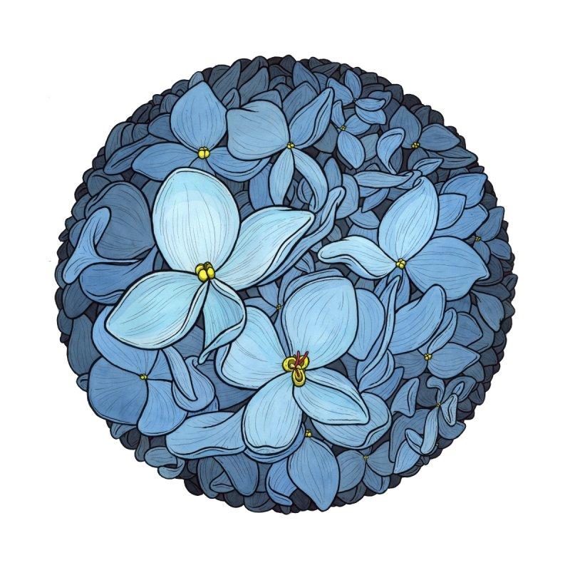 Blue Flowerball   by Scott Teplin's Chazerai Bazaar