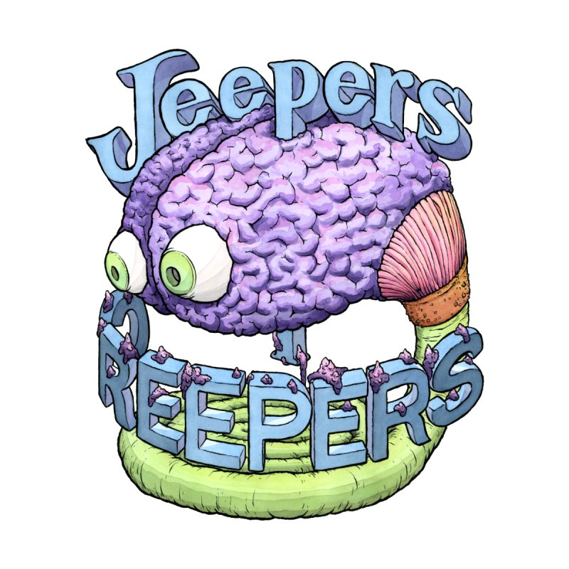 Jeepers Creepers (check out my Peepers) by Scott Teplin's Chazerai Bazaar