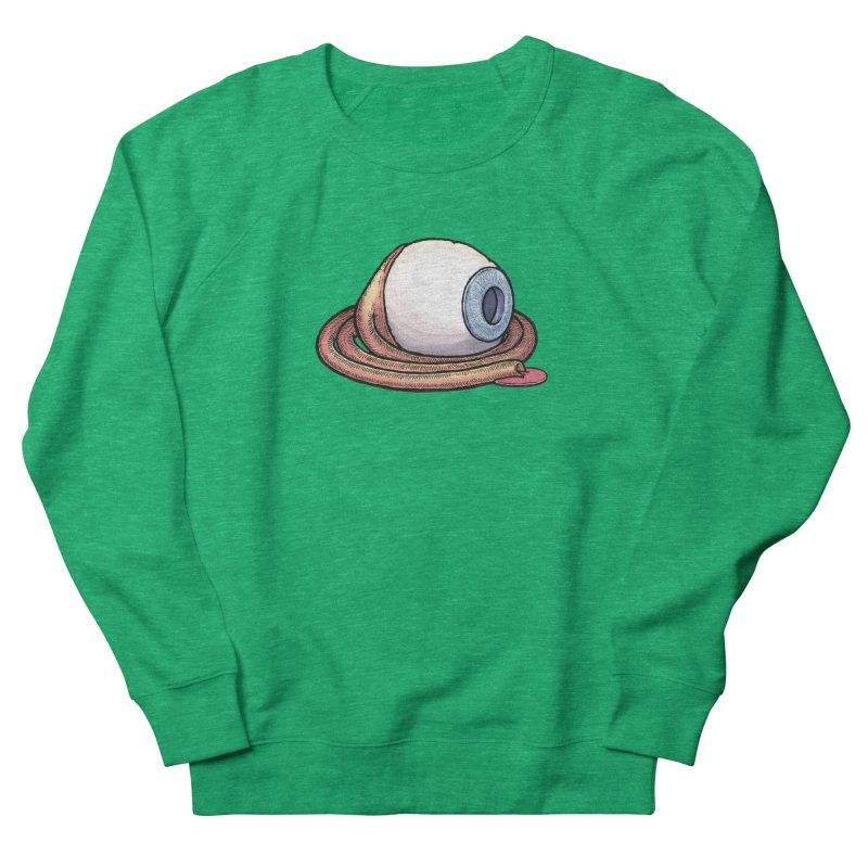 Eyeball - optic nerve leakage Men's French Terry Sweatshirt by Scott Teplin's Chazerai Bazaar