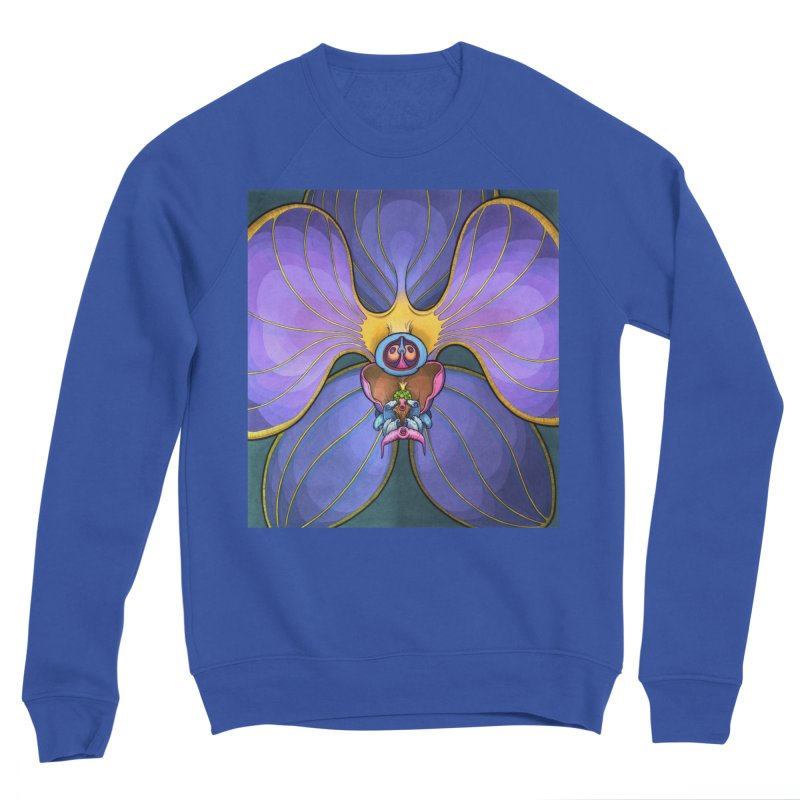 Rainbow Orchid Men's Sweatshirt by Scott Teplin's Chazerai Bazaar