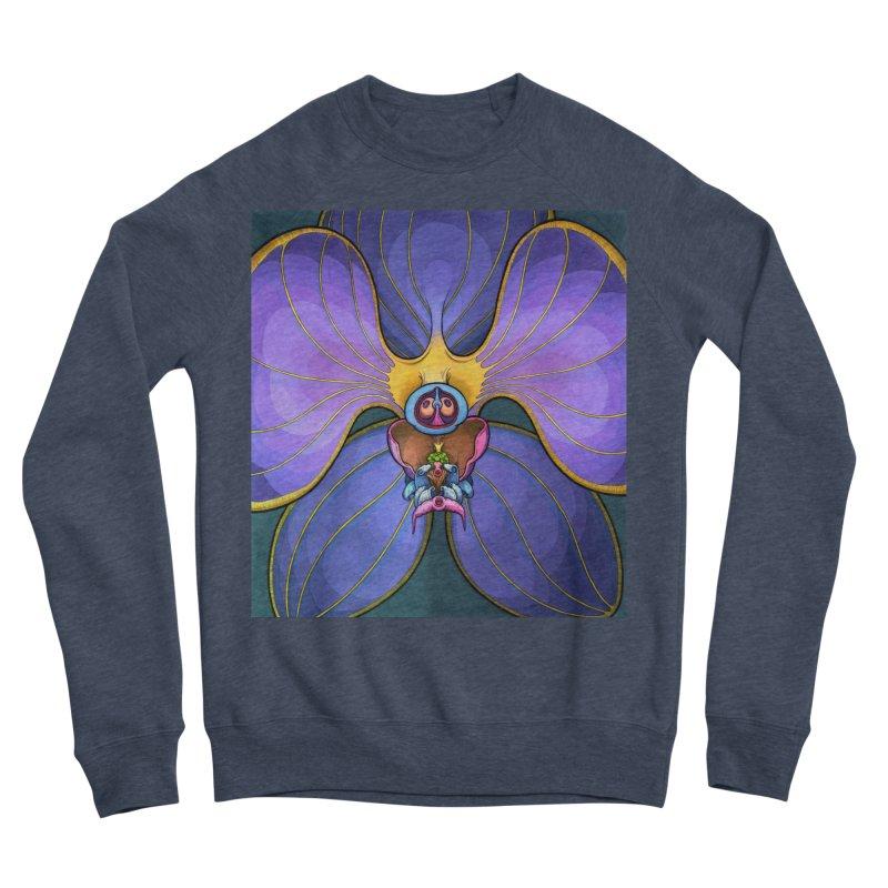 Rainbow Orchid Men's Sponge Fleece Sweatshirt by Scott Teplin's Chazerai Bazaar