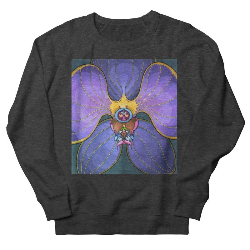 Rainbow Orchid Men's French Terry Sweatshirt by Scott Teplin's Chazerai Bazaar