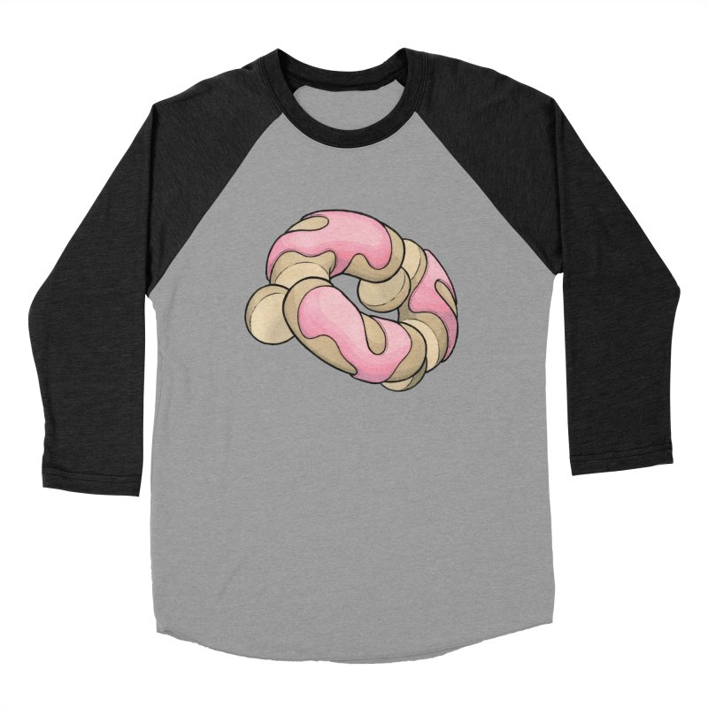 Sliced & Diced Men's Baseball Triblend Longsleeve T-Shirt by Scott Teplin's Chazerai Bazaar