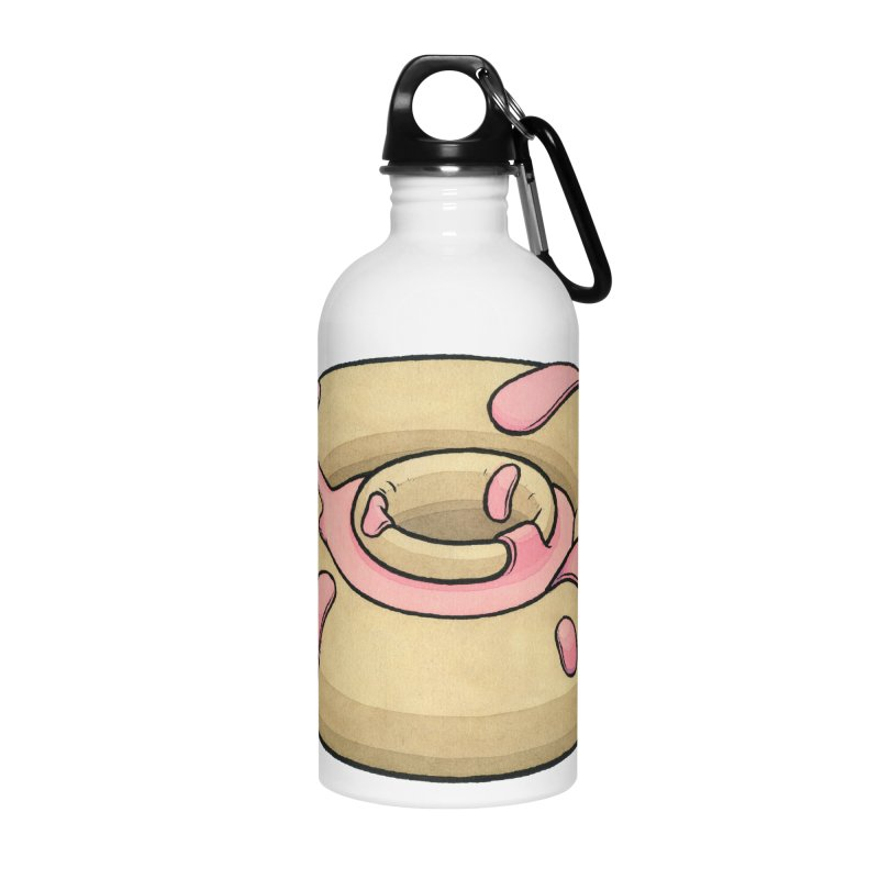Prolapsed Dopnut Accessories Water Bottle by Scott Teplin's Chazerai Bazaar