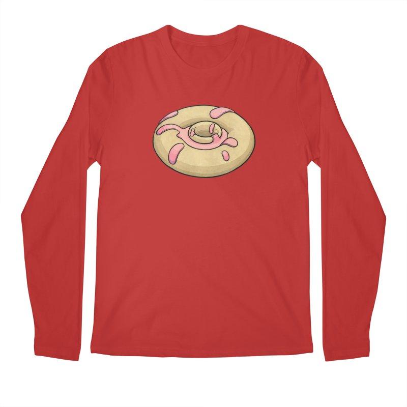 Prolapsed Dopnut Men's Regular Longsleeve T-Shirt by Scott Teplin's Chazerai Bazaar