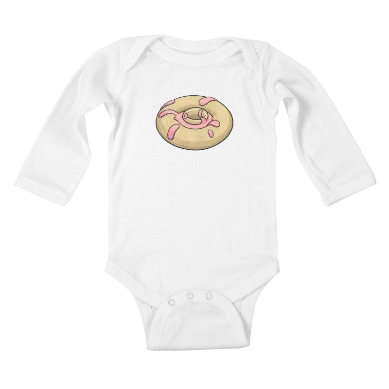 Prolapsed Dopnut Kids Baby Longsleeve Bodysuit by Scott Teplin's Chazerai Bazaar