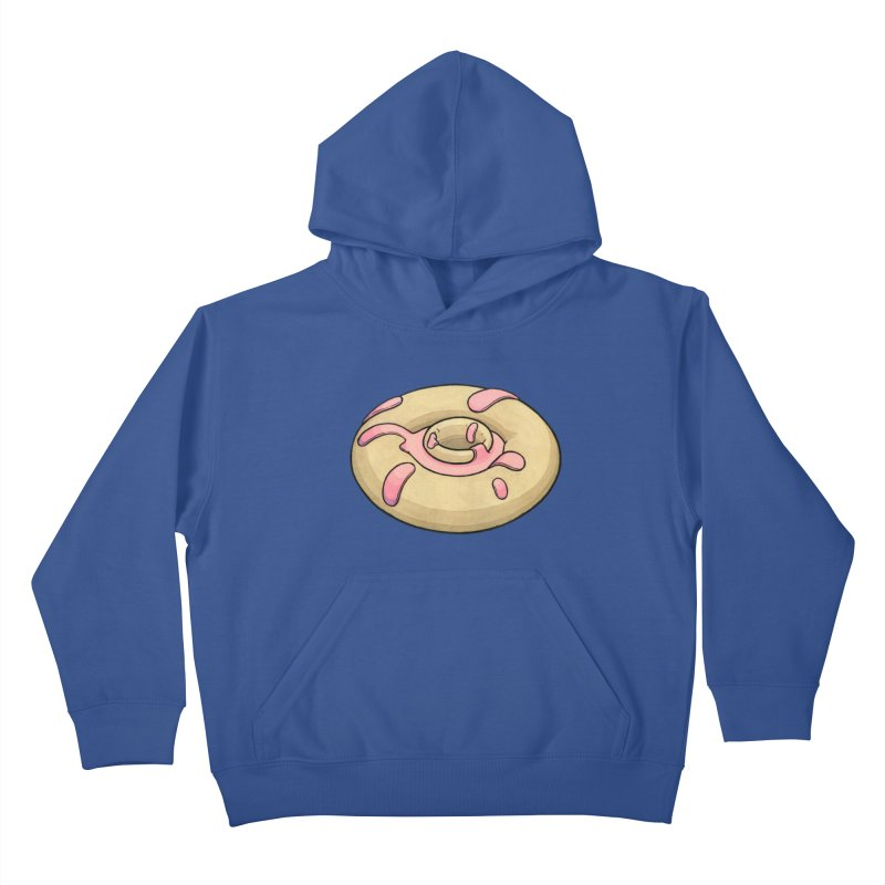 Prolapsed Dopnut Kids Pullover Hoody by Scott Teplin's Chazerai Bazaar