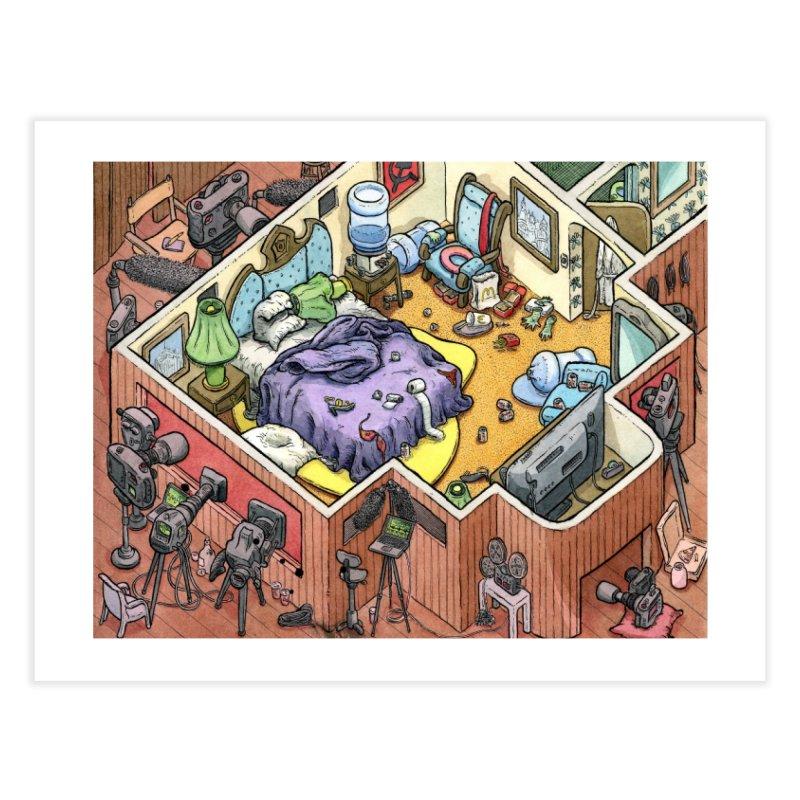 Russian Pee Room Home Fine Art Print by Scott Teplin's Chazerai Bazaar