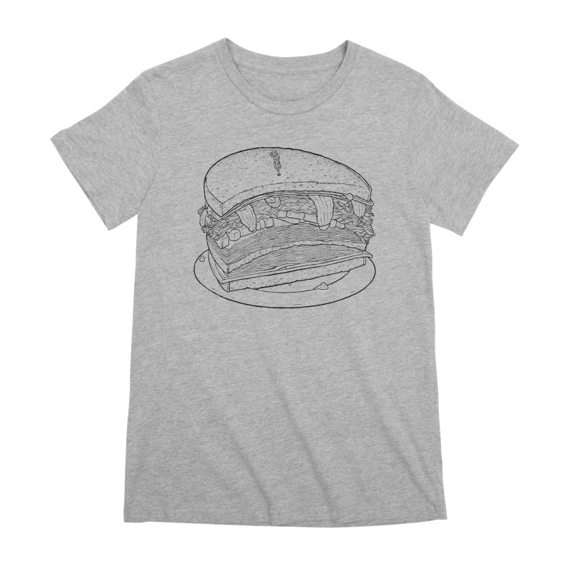 Oh, just half for me, thanks. Women's Premium T-Shirt by Scott Teplin's Chazerai Bazaar