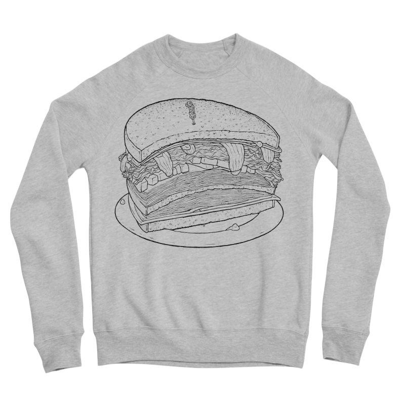 Oh, just half for me, thanks. Women's Sponge Fleece Sweatshirt by Scott Teplin's Chazerai Bazaar