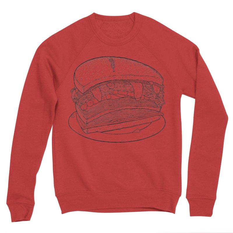 Oh, just half for me, thanks. Men's Sponge Fleece Sweatshirt by Scott Teplin's Chazerai Bazaar