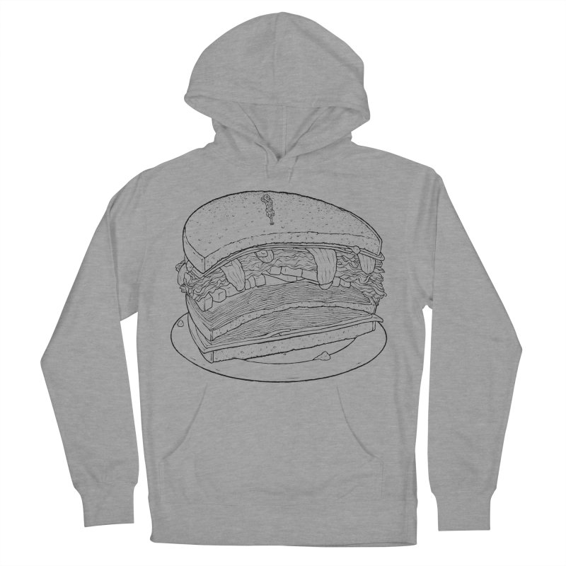 Oh, just half for me, thanks. Men's French Terry Pullover Hoody by Scott Teplin's Chazerai Bazaar