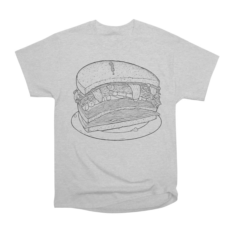 Oh, just half for me, thanks. Women's Heavyweight Unisex T-Shirt by Scott Teplin's Chazerai Bazaar