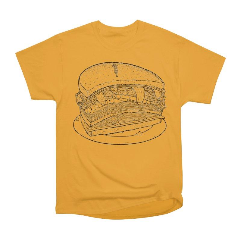 Oh, just half for me, thanks. Men's Heavyweight T-Shirt by Scott Teplin's Chazerai Bazaar