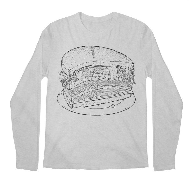 Oh, just half for me, thanks. Men's Regular Longsleeve T-Shirt by Scott Teplin's Chazerai Bazaar
