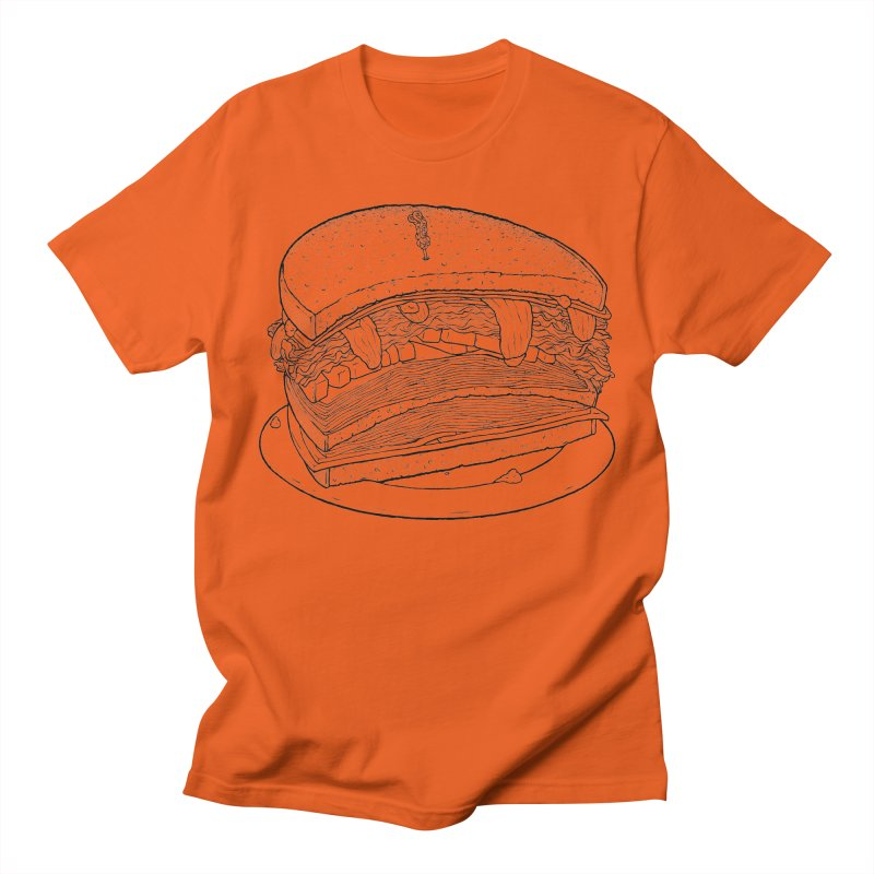 Oh, just half for me, thanks. Men's Regular T-Shirt by Scott Teplin's Chazerai Bazaar