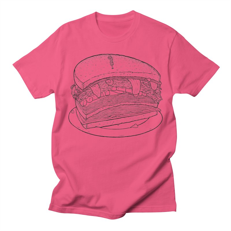 Oh, just half for me, thanks. Women's Regular Unisex T-Shirt by Scott Teplin's Chazerai Bazaar