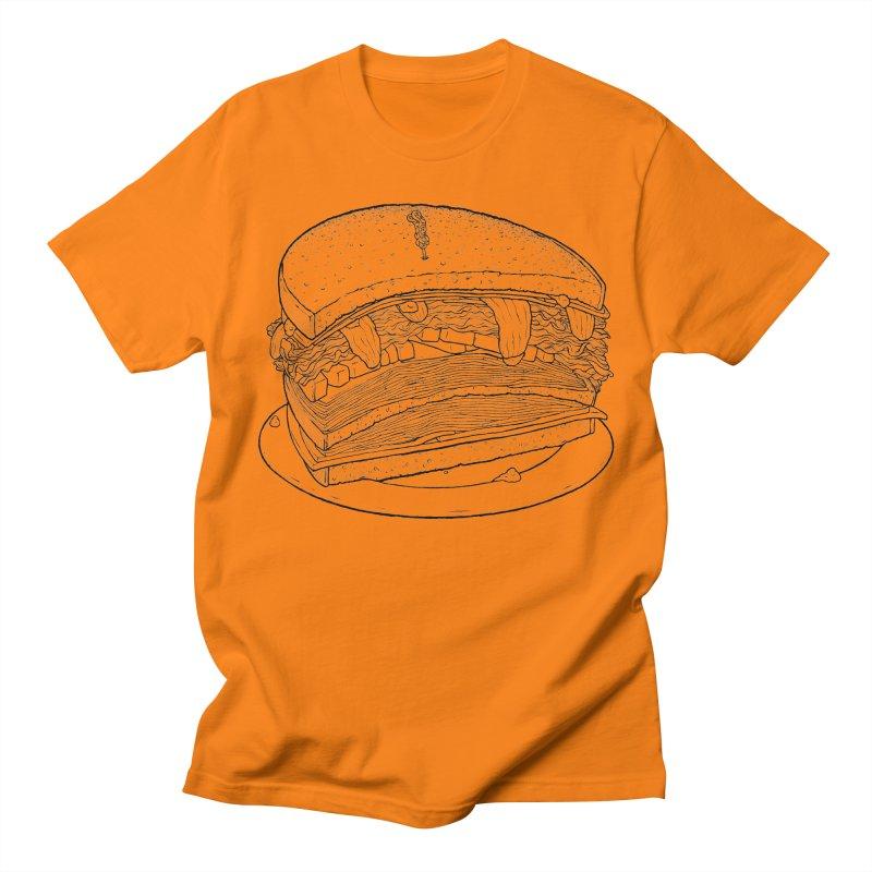 Oh, just half for me, thanks. Men's Regular T-Shirt by Scott Teplin's Chazerai Bazaar