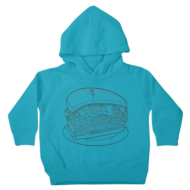 Oh, just half for me, thanks. Kids Toddler Pullover Hoody by Scott Teplin's Chazerai Bazaar