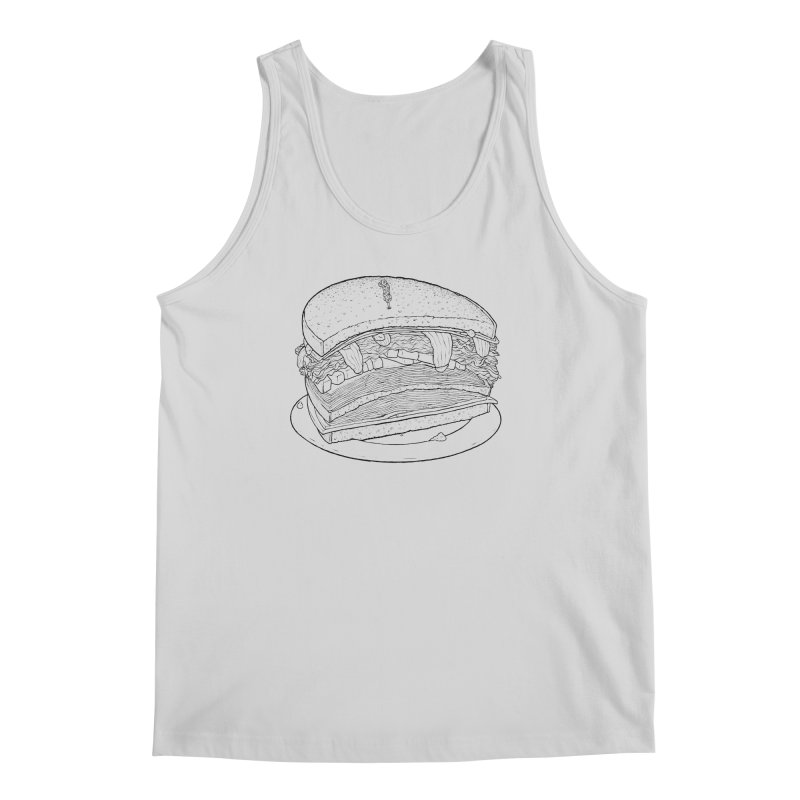 Oh, just half for me, thanks. Men's Regular Tank by Scott Teplin's Chazerai Bazaar