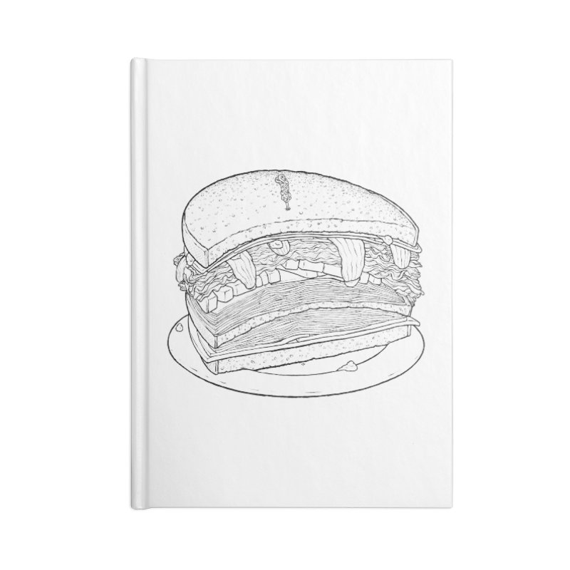 Oh, just half for me, thanks. Accessories Blank Journal Notebook by Scott Teplin's Chazerai Bazaar