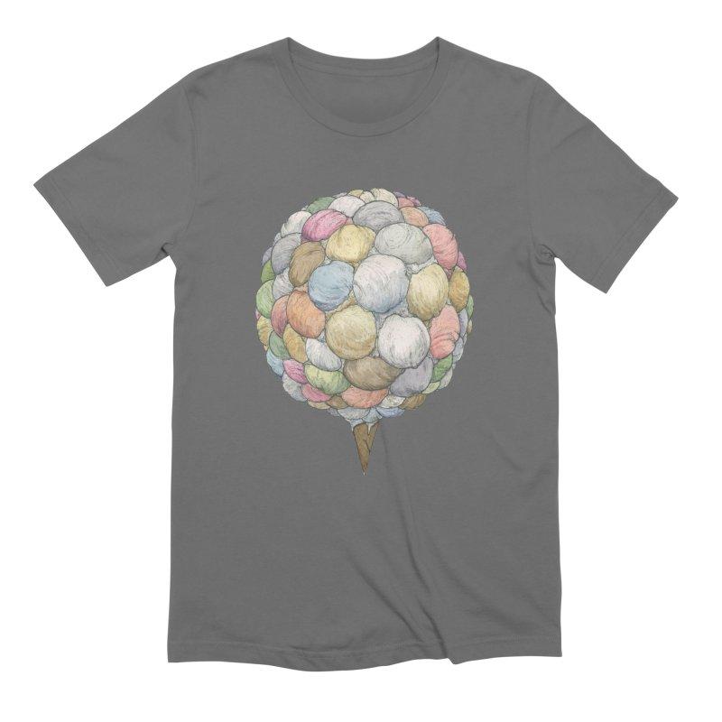 Ice Creams Cone Men's T-Shirt by Scott Teplin's Chazerai Bazaar