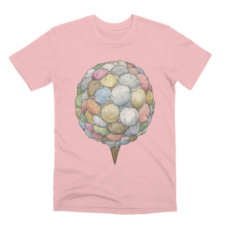 Ice Creams Cone Men's Premium T-Shirt by Scott Teplin's Chazerai Bazaar